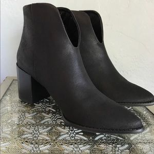 NWT Black Ankle Boots